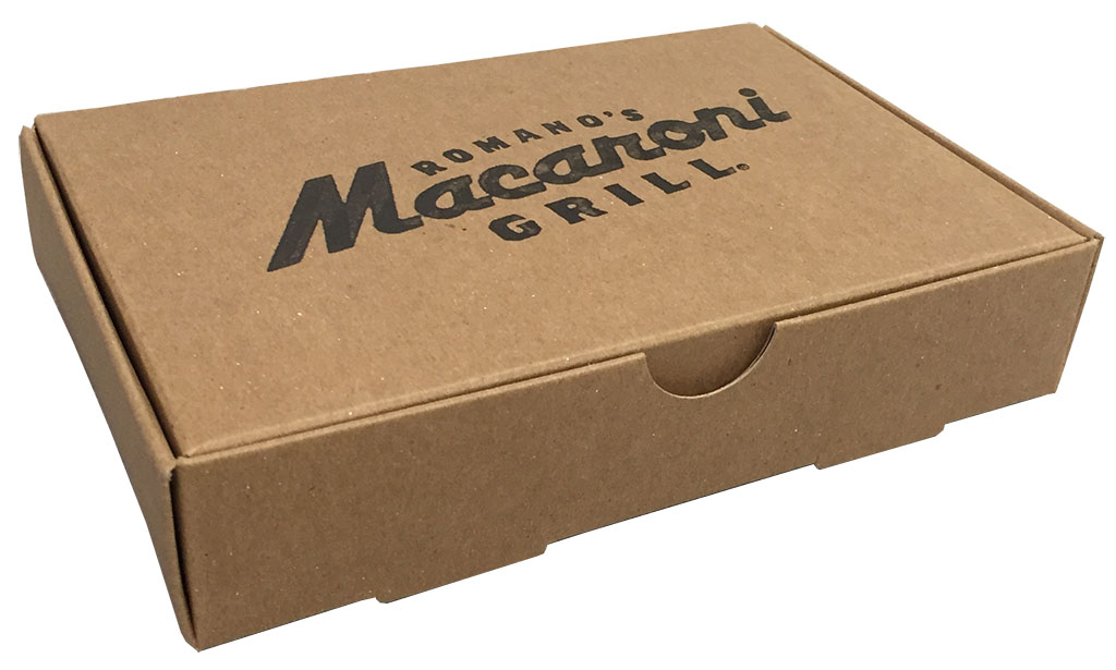 macaroni grill rollover tray american carton company. Black Bedroom Furniture Sets. Home Design Ideas