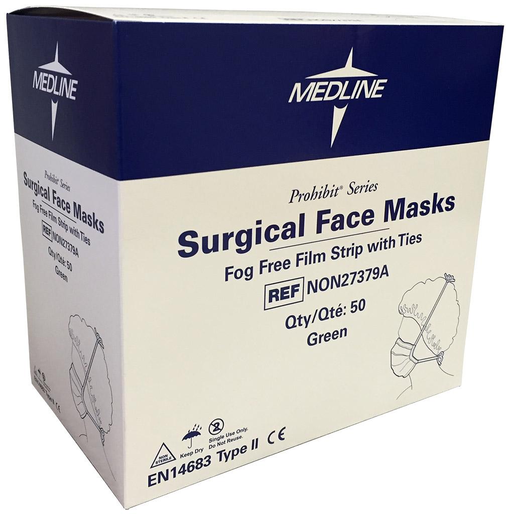 medline surgical face mask